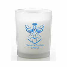 personalized candle candle baptism favors