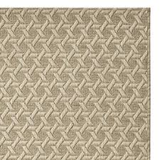 William Sonoma Kitchen Rugs Faux Natural Textural Cane Indoor Outdoor Rug Angora Williams