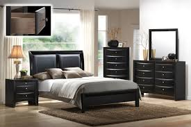 mollai collection u0027s emily 6pc bedroom set with paneled faux