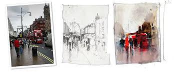thumbnail sketches john lovett artist