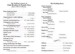 Easy Wedding Program Template 35 Best Printable Wedding Programs Images On Pinterest Wedding