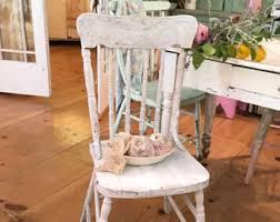 shabby chic chair etsy