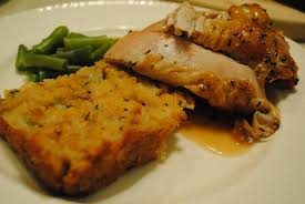 herb roasted turkey breast corn bread dressing cayla u0027s kitchen sink