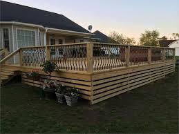 aluminum deck spindles patio doherty house aluminum deck