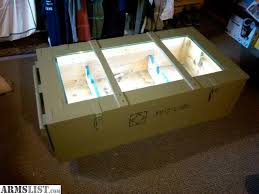 Shipping Crate Coffee Table - armslist for sale trade ak sks military shipping crate gun