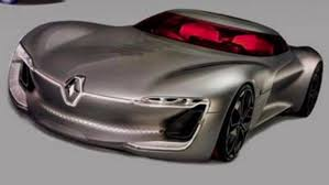 renault supercar renault trezor electric concept teased update leaked pics added