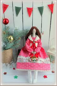 christmas angel cloth doll tilda rag doll gift for christmas