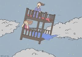 Cartoon Bunk Bed by Headofleslie Com Flying Bunk Bed