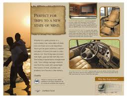 rv home theater system 2008 fleetwood expedition brochure rv literature