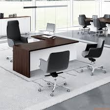 bureau couleur wengé t desk 03 bureau directionnel d angle pourvu de caisson et