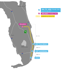 Florida Map East Coast Brightline Florida U0027s New High Speed Rail System Set To Open This