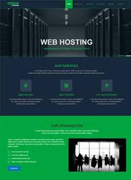green best free web hosting templates webthemez