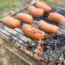 Cooking Over Fire Pit Grill - learn how to cook over a wood fire great for camping or just in