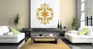 Large Wall Stickers For Living Room by Giant Baroque Wall Decal Dezign With A Z