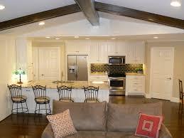 open concept kitchen living room small centerfieldbar com