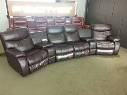 Four Seater Recliner Sofa Living Room Sofa Recliner Sofa Cow Genuine Leather Recliner Sofa