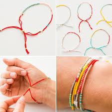make friendship bracelet beads images How to make bracelets with beads centerpieces bracelet ideas jpg