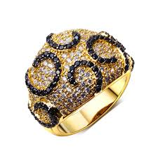 designer rings images aliexpress buy high quality designer rings jewelry black cz