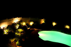 patio picturesque cool pool landscape lighting ideas swimming inground pentair outdoor above ground in for