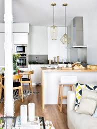 cuisine ouverte surface cuisine ouverte salon 20m cuisine en image avec cuisine ouverte sur
