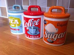 unbranded vintage retro ceramic kitchen canisters u0026 jars ebay