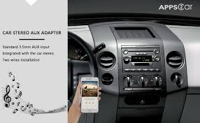 How To Put An Aux Port In Your Car Amazon Com Apps2car Car Stereo Aux Adapter Auxiliary Input Mp3