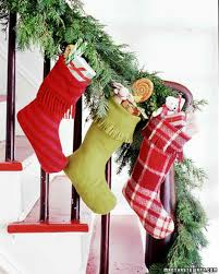 christmas stocking ideas martha stewart