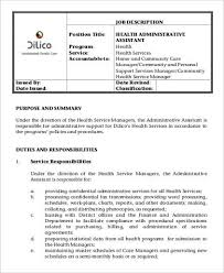 Administrative Assistant Duties For Resume Administrative Assistant Responsibilities Office Administrative