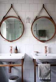 bathroom mirrors how to hang a bathroom mirror designs and