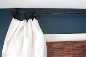 Long Curtain Diy Long Curtain Rod Home Design Ideas
