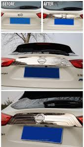 nissan qashqai j11 problems fit for nissan qashqai j11 2014 2015 2016 chrome rear trunk lid