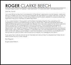 junior lawyer cover letter sample livecareer