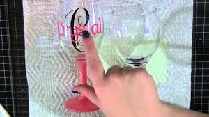 diy monogram wine glasses update for the personalized wine glasses