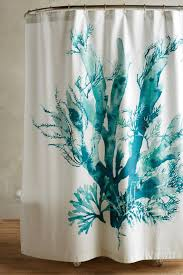 Teal Ruffle Shower Curtain by Curtains Urban Outfitters Shower Curtain Navy Floral Shower