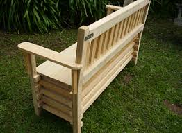 Plans For Building A Wood Bench by Free Woodworking Plans How To Make A Bench Seat