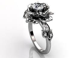 engagement rings flower design flower wedding rings wedding corners