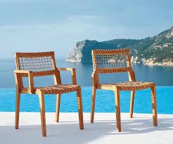 Teak Outdoor Chairs Favorite Furniture Sustainable Teak From An Italian Designer