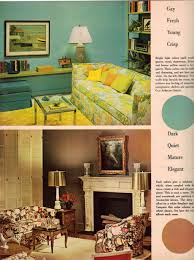 1960s decor 1960s decorating style 16 pages of painting ideas from 1969