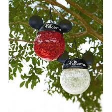 your wdw store disney hanging solar light mickey mouse ears