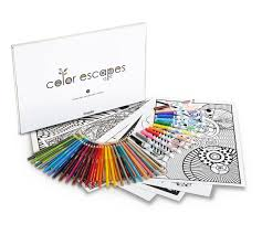 colored writing paper color escapes adult coloring kit geometric crayola color escapes adult coloring kit geometric