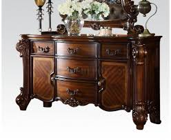 Dining Room Dresser Vendome Dining Table In Cherry By Acme W Options