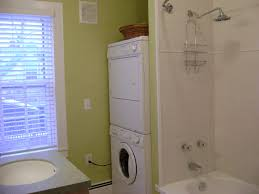 extraordinary bathroom with washer and dryer surprising white