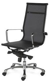 chaise de bureau fauteuil de bureau design tout filet et chromé saumur