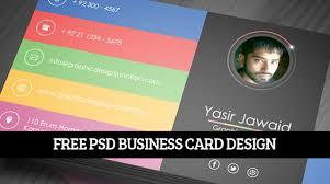 business card designs psd modern print ready business card template psd freebies