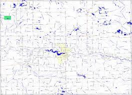 Michigan Road Map by Bridgehunter Com Oscoda County Michigan