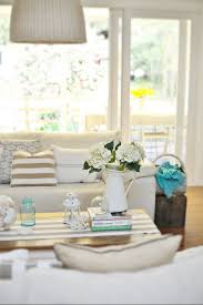 Cottage Decorating Ideas Pinterest by A Beach Cottage Coastal Family Room Makeover With Drop Cloths