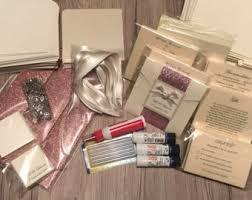 diy wedding invitations kits wedding invitation kits etsy uk