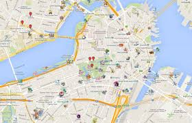 Boston Google Maps by Google Maps Pokemon Go Images Pokemon Images