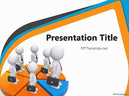 free round powerpoint diagram is a free ppt template with a nice