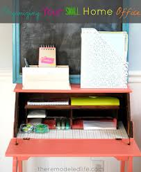 Organizing Your Office Desk The Remodeled Organizing Your Small Home Office